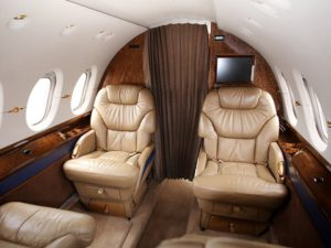 KlasJet - Hawker 800XP interior 2